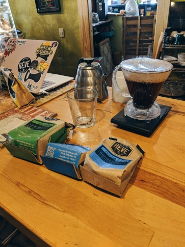 Japanese Flash Pourover in the making