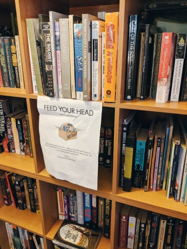 Feed Your Head - share literature!
