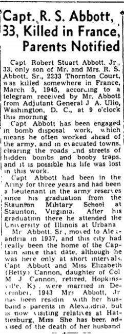 March 12, 1945.